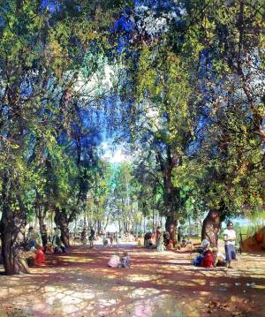 Isaak Brodsky - Alley in the Park