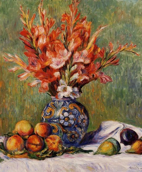 Pierre Auguste Renoir Flowers - Tutt'Art@ (8)