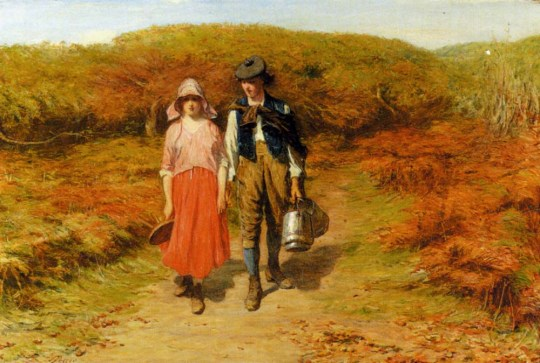 Rustic-Courtship-John-Pettie-1839-1893