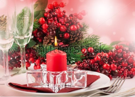 stock-photo-christmas-table-layout-multi-colored-tape-with-a-branch-of-berries-114306454