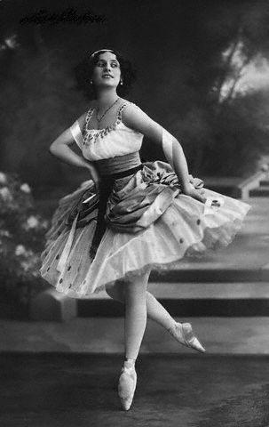 Ballerina Anna Pavlova