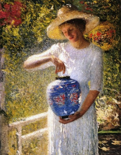 Helen M. Turner - Girl with lantern
