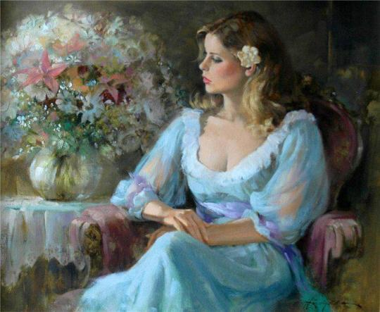 Howard Rogers 1932 - Americam Figurative painter - Tutt'Art@ (4)