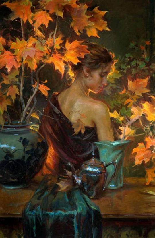 Paintings_Beautiful_Women_Daniel_F_Gerhartz_Kewaskum_Wisconsin_Usa_8