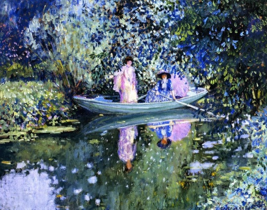 grey-day-on-the-river-1908-frederick-carl-frieseke-american-painter