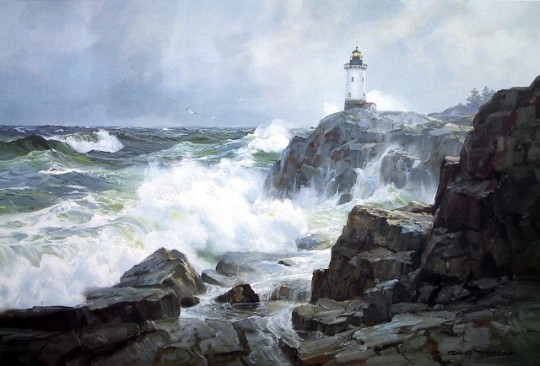 pid_1516-Sentinel-of-the-Sea---Charles-Vickery-Limited-Edition-Nautical-Print-10