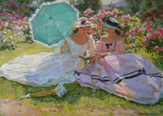 Alexander Averin [Александр Аверин] 1952 - Russian Realist painter - Tutt'Art@ (28)