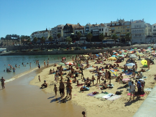 vile,plaja la Oceanul Atlantic