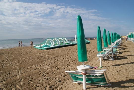 lido di jesolo. plaja Marea Adriatica
