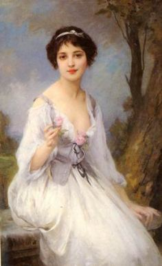Lenoir_Charles_Amable_The_Pink_Rose