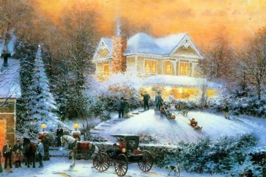 christmas-painting