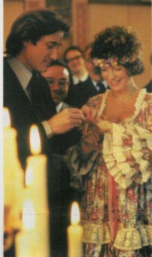 in timpul casatoriei cu Daniel Biasini