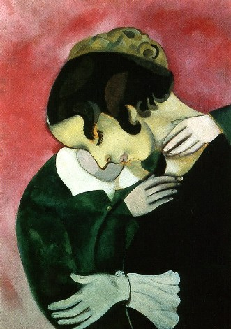 Marc Chagall (1887-1985) Lovers