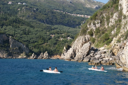 Mi-a placut Insula Corfu,  poate  este insula cea mai frumoasa din Grecia