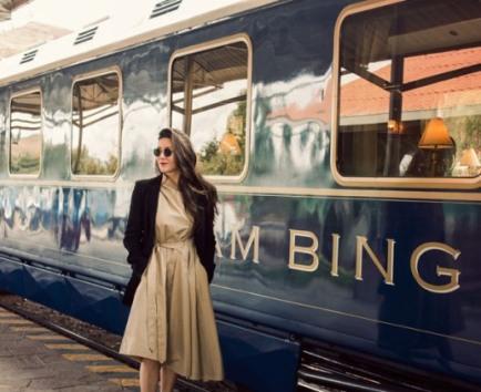 A jounrey to Machu Picchu on Belmond's Hiram Bingham luxry train in Peru, formally of the Orient Express