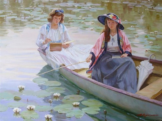 Alexander Averin [Александр Аверин] 1952 - Russian Realist painter - Tutt'Art@ (32)