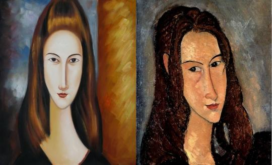 Modigliani- Portrait de Jeanne Hébuterne