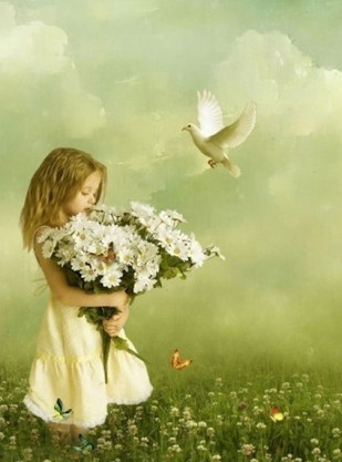 Girl-Holding-the-Daisies-Oil-Painting-3020-18536