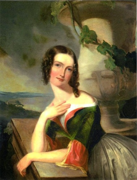 Thomas Sully (1783-1872). Elizabeth Wharton