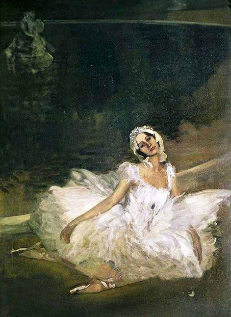 Sir John Lavery (1856-1941)  Anna Pavlova 1911 г.