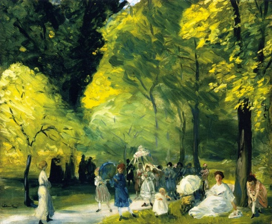 william-james-glackens-xx-little-may-day-procession-xx-private-collection