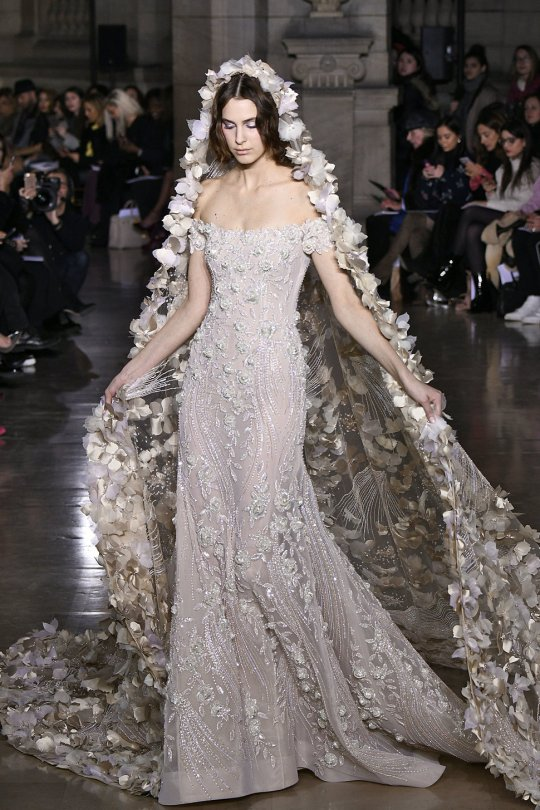 Georges Hobeika : Runway - Paris Fashion Week - Haute Couture Spring Summer 2017