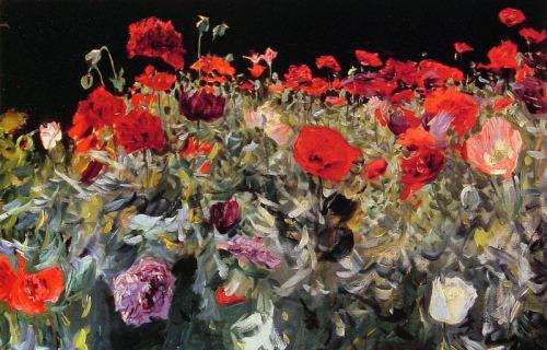 John Singer Sargent - Poppies