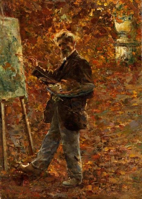 un pictor
