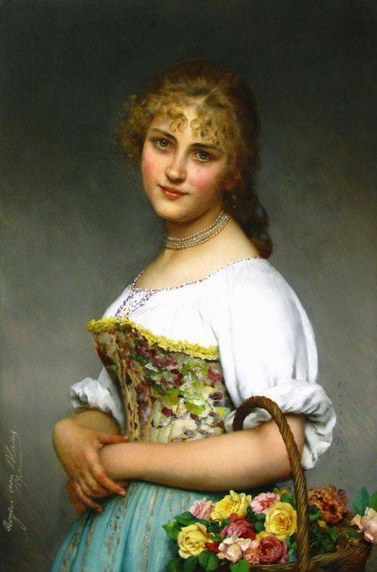 artistul austriac Blaas von Eugen (1843-1931)