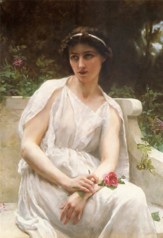 Guillaume Seignac (franceză, 1870-1929) as