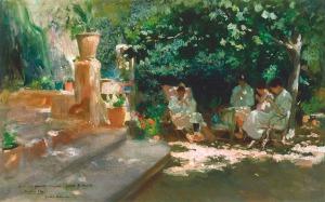 Cecilio Plá (Spanish,1860-1934)