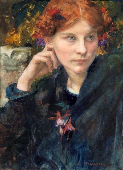 Edgard Maxence 1900