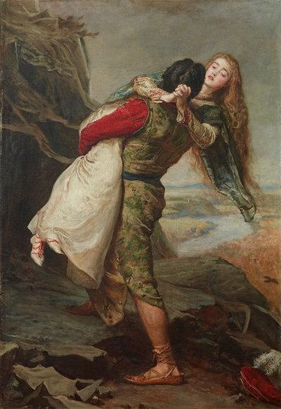 John Everett Millais, 1875 coroana iubirii