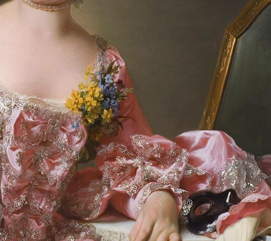 Marie Suzanne Giroust, by Alexander Roslin