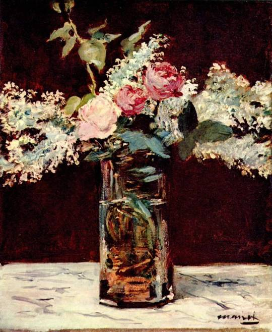 Claude Monet liliac