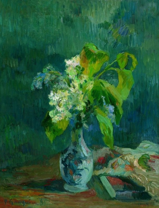 Paul Gauguin (French, 1848-1903), Lilacs