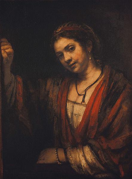442px-Rembrandt_-_Portrait_of_Hendrickje_Stoffels_-_Google_Art_Project