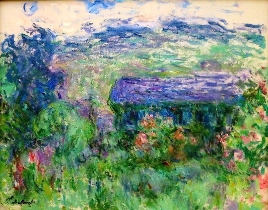 Claude Monet, The House among the Roses 1925-26,
