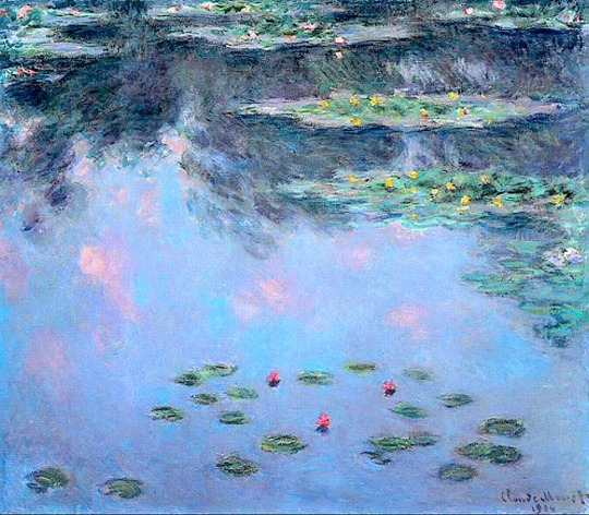 Claude Monet Water lilies 1906-07