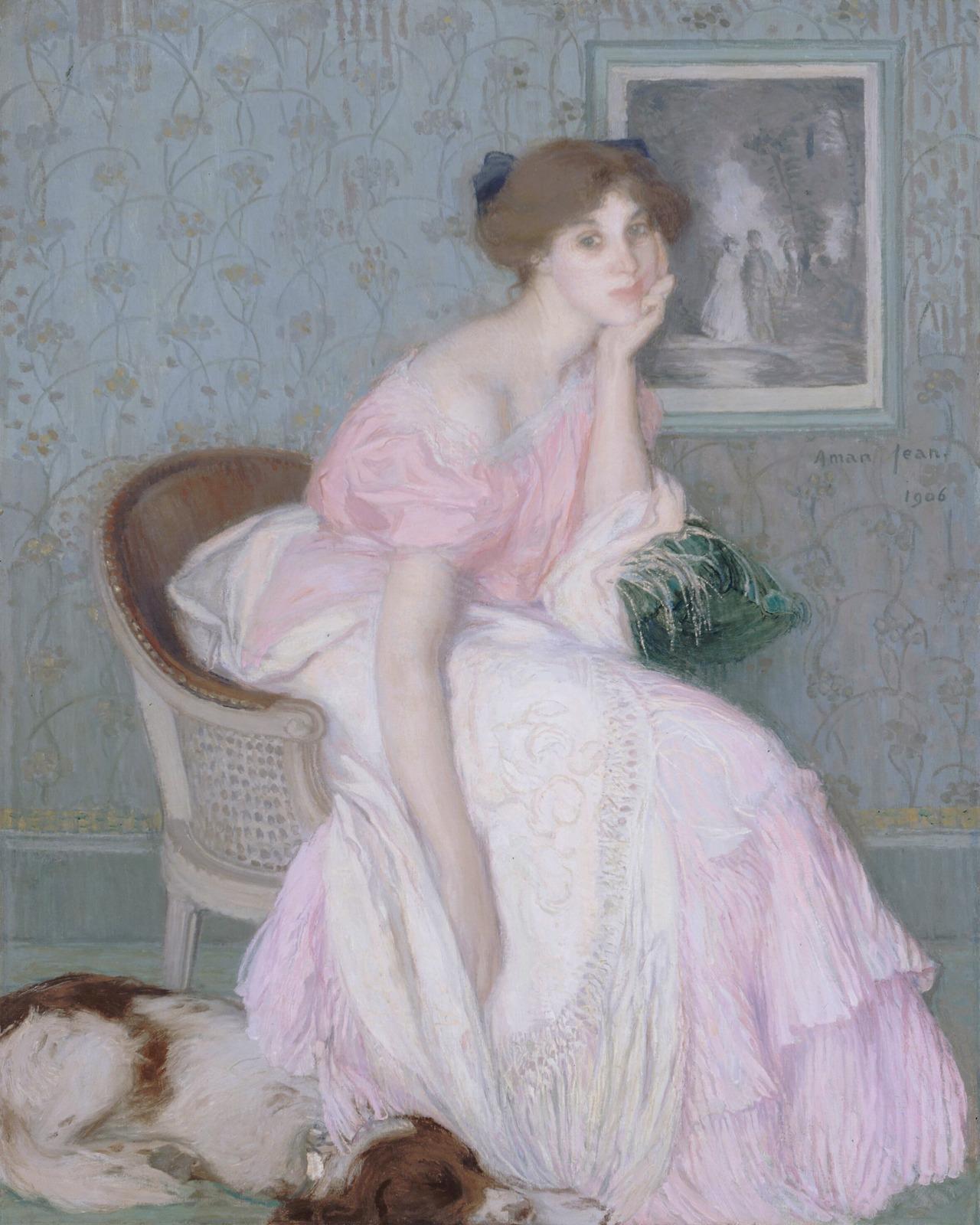 Edmond Aman-Jean (francez), 1856-1936