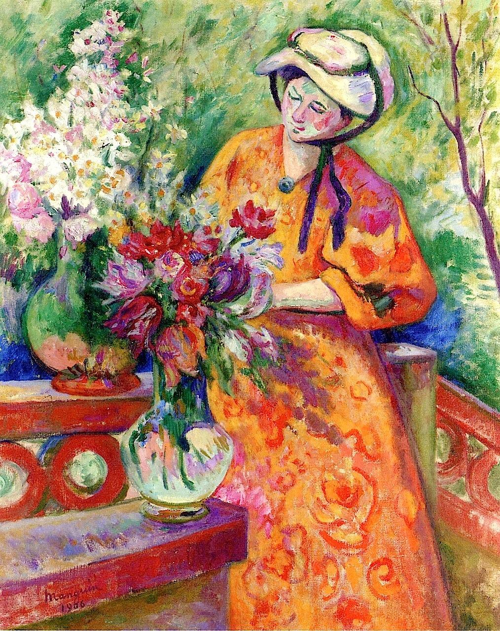 Flower Girl Henri Manguin - 1906