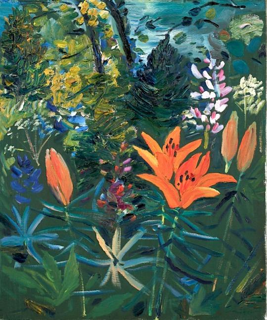 Hans Wigert - Lilies