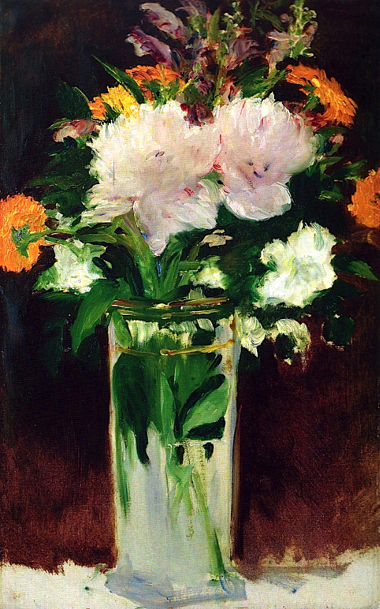Edouard Manet - Flowers in a Vase, 1882