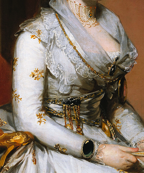 Gilbert Stuart - Matilda Stoughton de Jaudenes (1794)