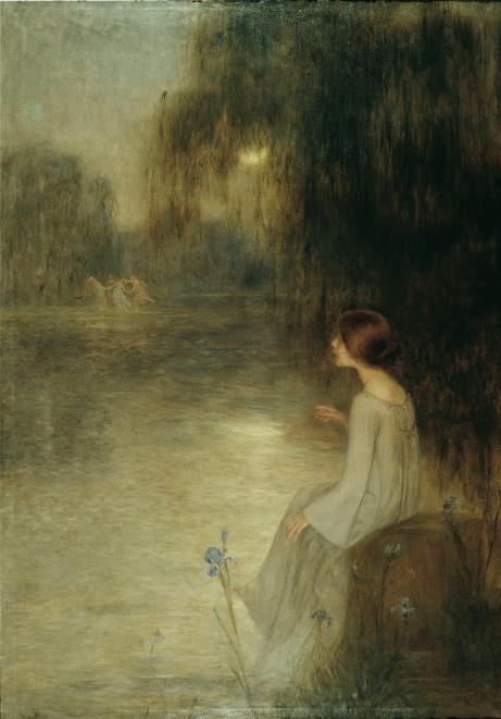 Joan Brull (1863-1912), Rêverie - 1905
