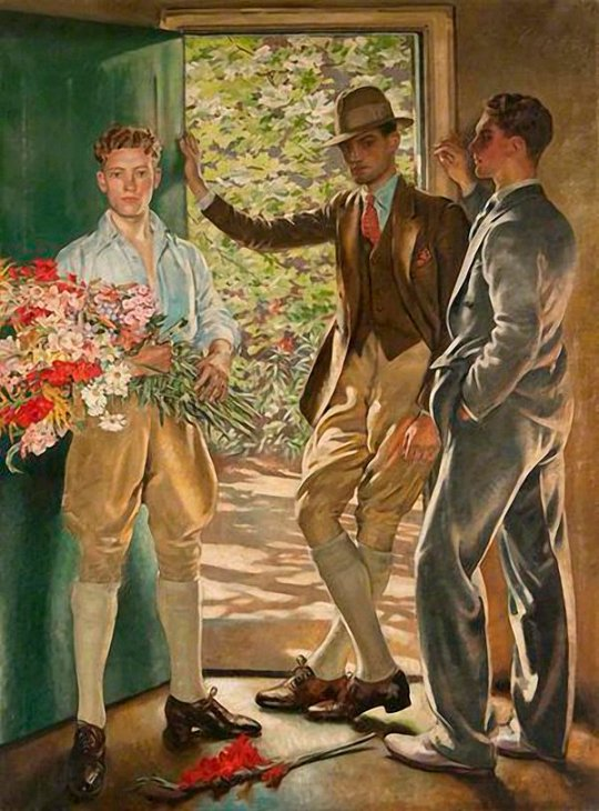 The Garden Door(1926)William Bruce Ellis Ranken (1881–1941)