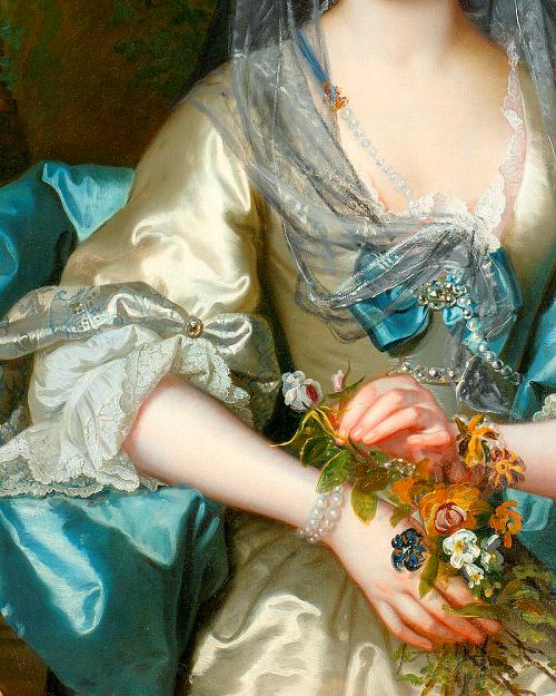 Franz Van Der Mijn; Portrait of a Lady