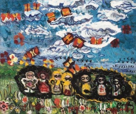 Păpușile-norul-și-fluturii-Ion-Tuculescu (1)