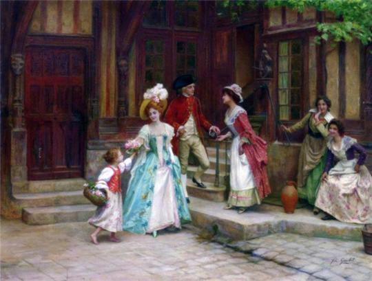 Artistul franceză Jules Girardet. 7