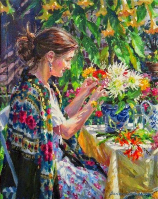 pictura flor.